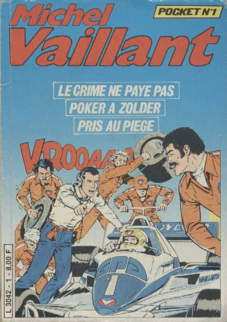 Une Couverture de la Série Michel Vaillant Pocket