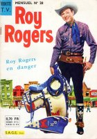 Grand Scan Roy Rogers Vedettes TV n° 28