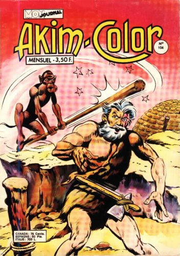 Scan de la Couverture Akim Color n° 104