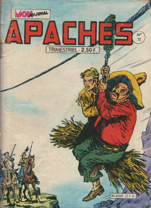 Scan de la Couverture Apaches n° 72