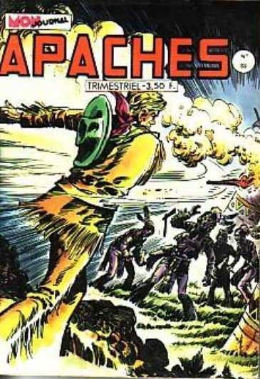 Scan de la Couverture Apaches n° 83