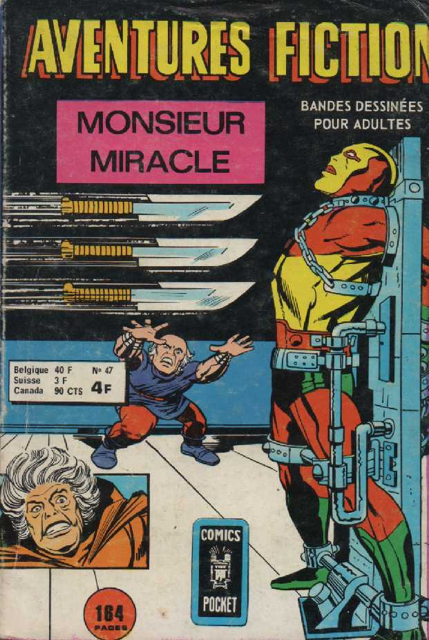 Scan de la Couverture Aventures Fiction 2 n° 47