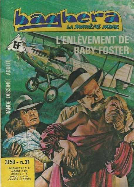 Pf Comic Scan Baghera La Panthère Noire N 31 Grand Format