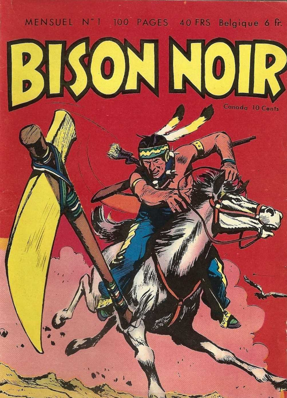 Scan Bison Noir