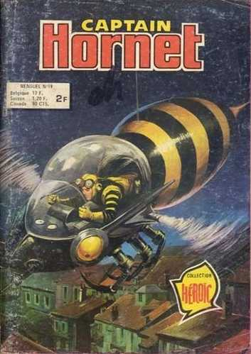 Scan de la Couverture Captain Hornet n° 19