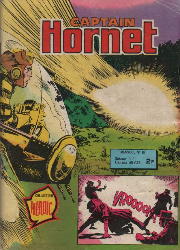 Scan de la Couverture Captain Hornet n° 30