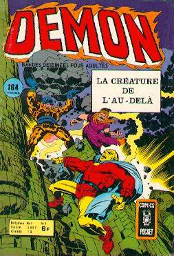 Scan de la Couverture Démon n° 1