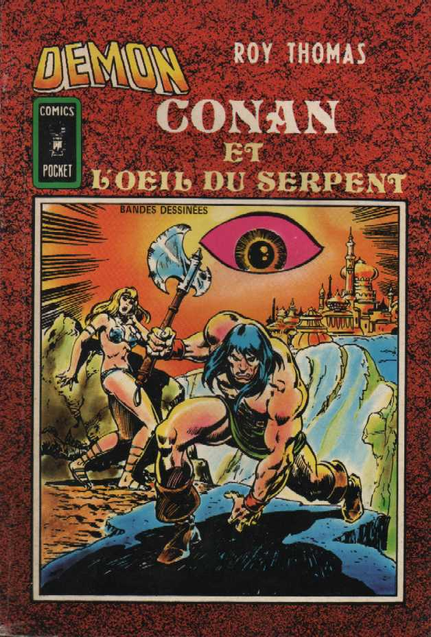 Scan de la Couverture Démon n° 17