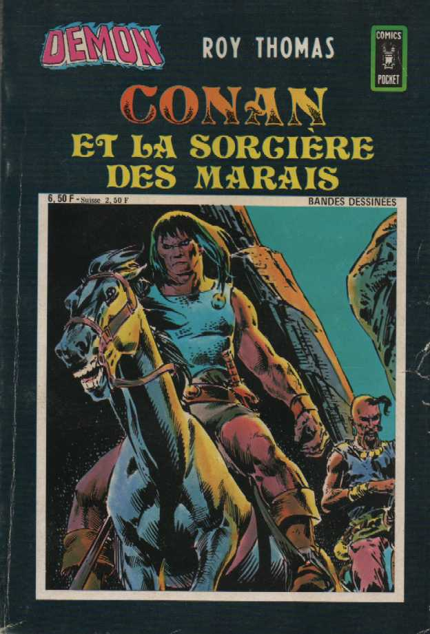Scan de la Couverture Démon n° 19
