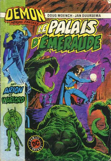 Scan de la Couverture Démon 2 n° 1