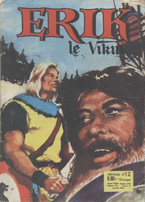 Scan de la Couverture Erik Le Viking n° 12