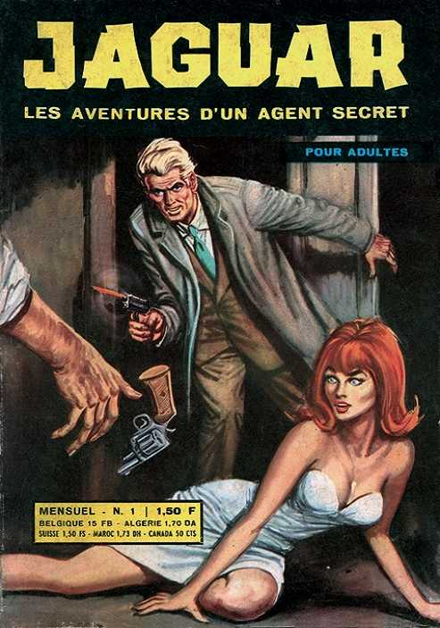 Une Couverture de la Série Jaguar Agent Secret