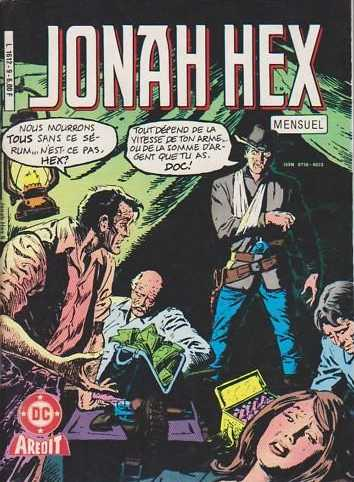 Scan de la Couverture Jonah Hex 2 n° 9