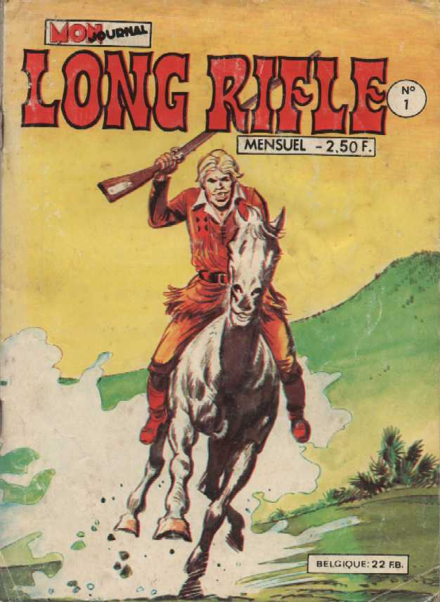 Une Couverture de la Série Long Rifle