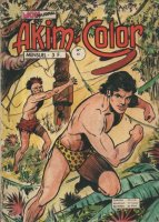 Scan de la couverture Akim Color du Dessinateur Guido Zamperoni