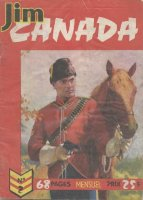 Scan de la couverture Canada Jim du Dessinateur Scott Septimus
